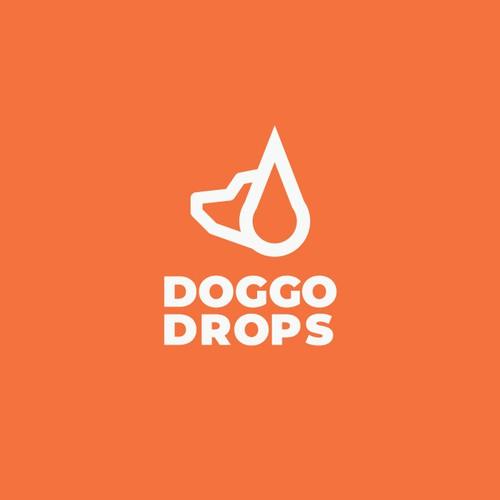 Doggo Drops Logo Concept