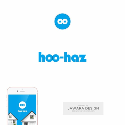 Hoo-haz Logo Design