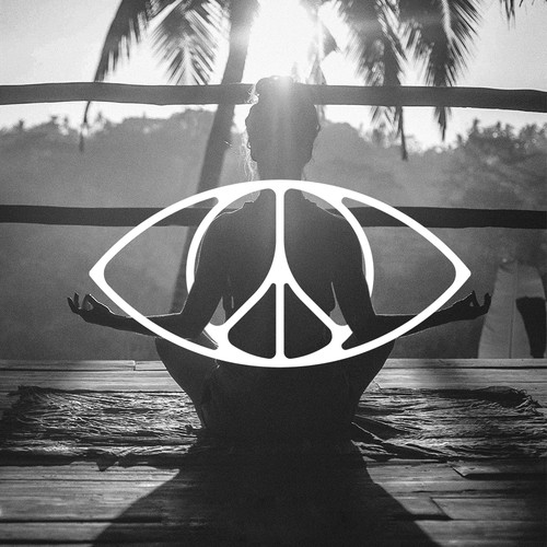 Eye + Peace symbol