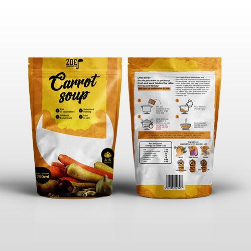 Modern / trendy soup packaging!