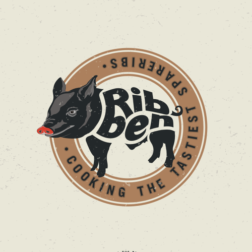 Create a winning logo for Ribben - cooking the tastiest spareribs