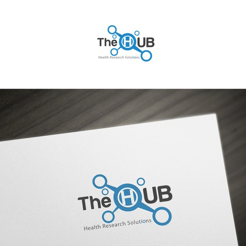 Create the next logo for The HUB Health Research Solutions