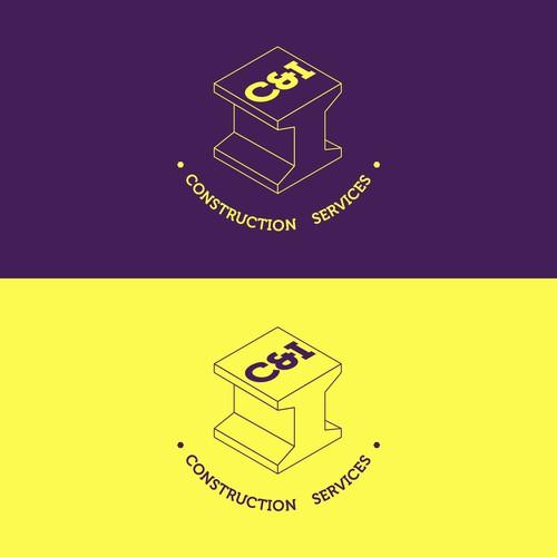 C&I Construction Services Logo Design