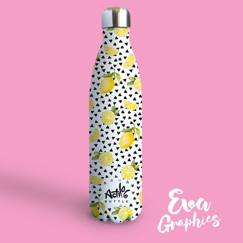 Patterndesign for a water bottle