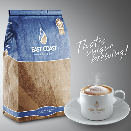Coffee bag for East Coast Coffee