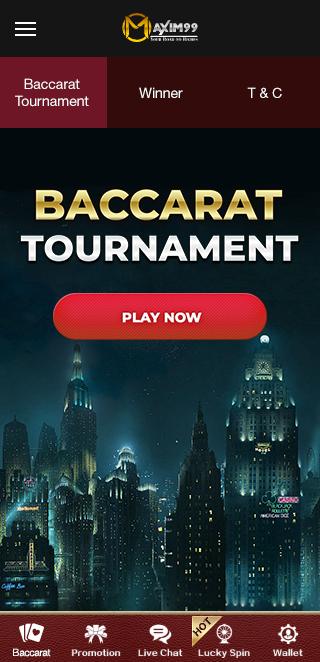 Baccarat Tournament