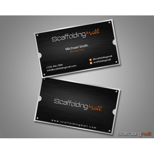 Create the next stationery for Scaffolding Mall (website: ScaffoldingMall.com)