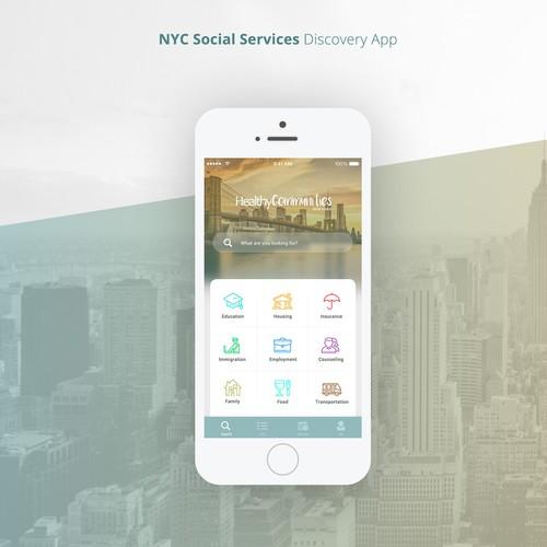 NY Social Services APP