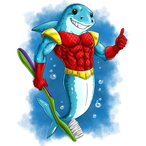 Super Healthy Tooth Shark