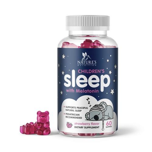 Cute Kids Sleep Gummies