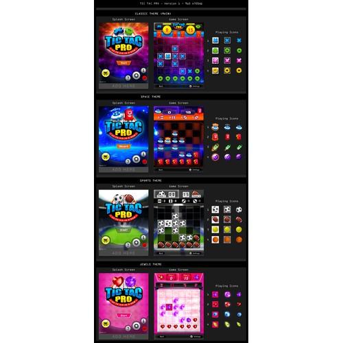 Game Design:  TIC TAC PRO