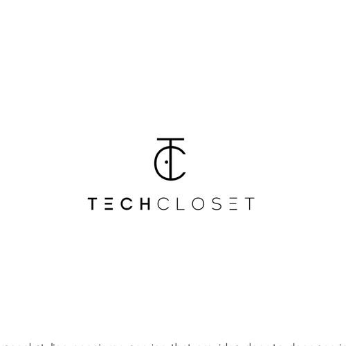 Winning Design for Tech Closet - Minimilist