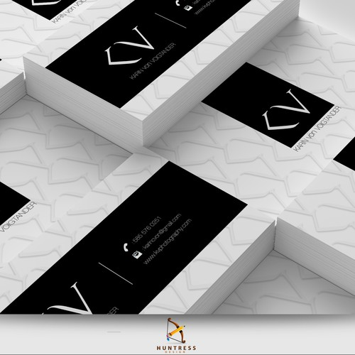 Business card for High end wedding photographer