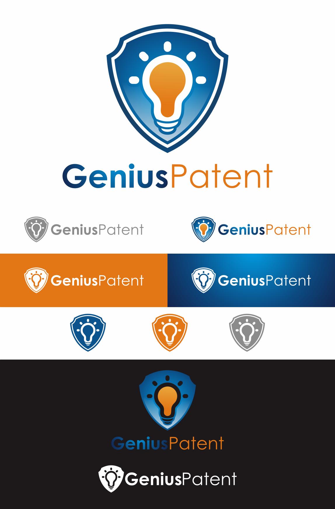 """Design a brilliant logo for """"Genius Patent"""""""