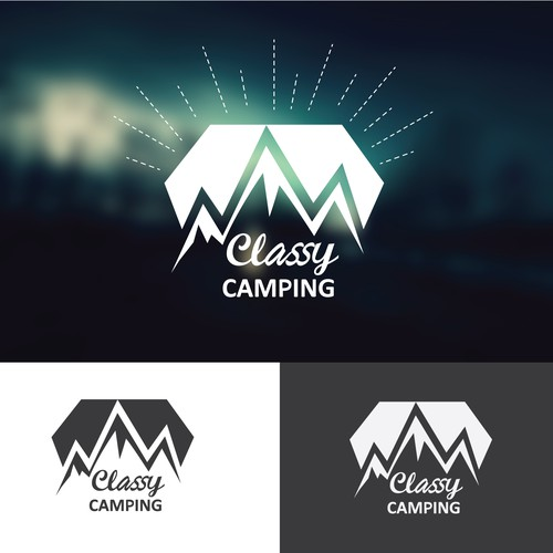 Logo concept for Camping business