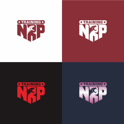 logo concept for NRP TRAINING