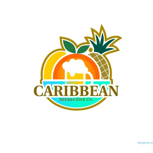 Logo design for Caribbean Beer & Cider Co.