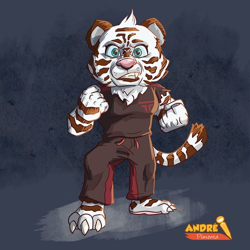 Concept for Martial Art School mascot