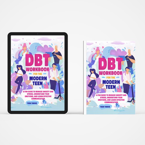 Book cover for teens