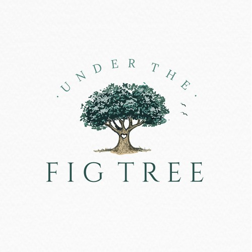 Stand out logo for Under the Fig Tree