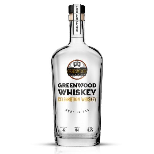 Elegant Whiskey Label