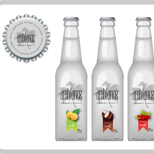 AlcoPop Label Design