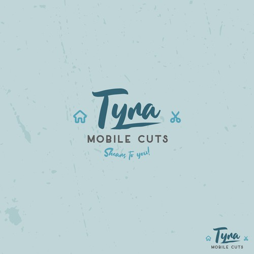 Logo concept for Tyra Mobile Cuts