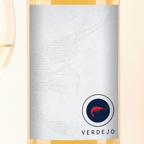 Create a beautiful and sophisticated wine label for a boutique winery