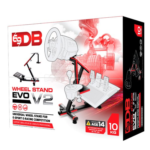 new packaging artwork for the new version of our product the Wheel Stand EVO v2.