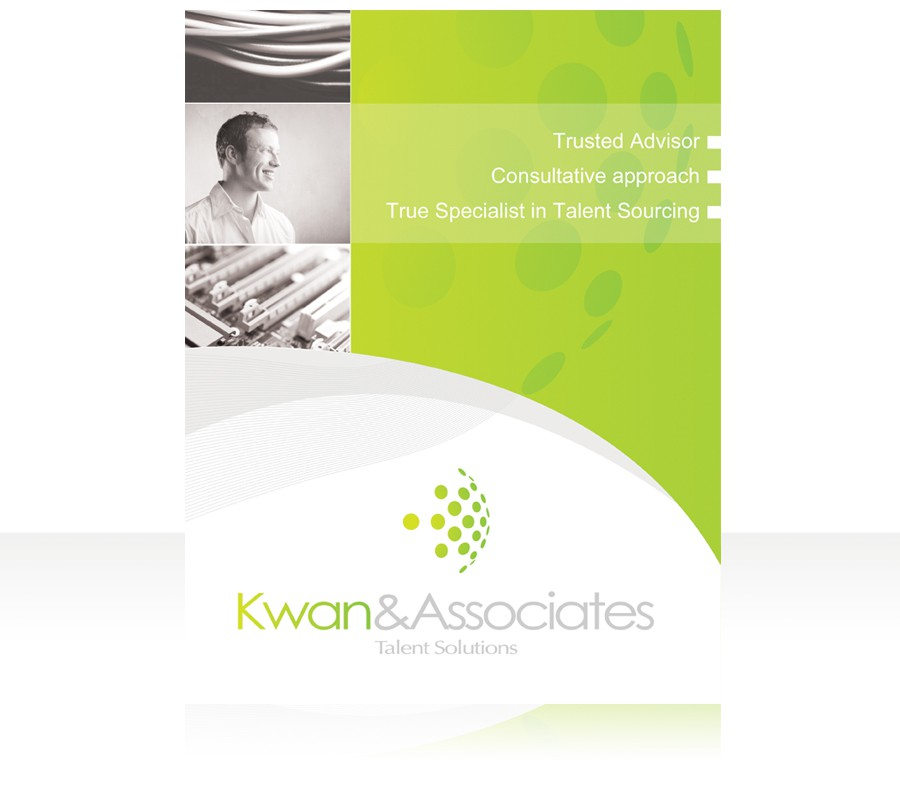 New corporate 1 page brochure for Kwan & Associates