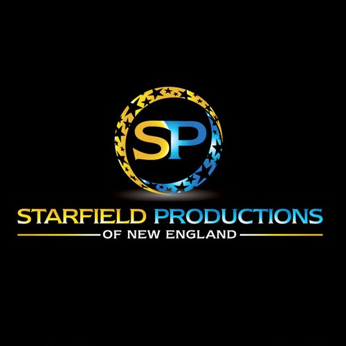 Create a unique and creative design for Starfield Productions of New England