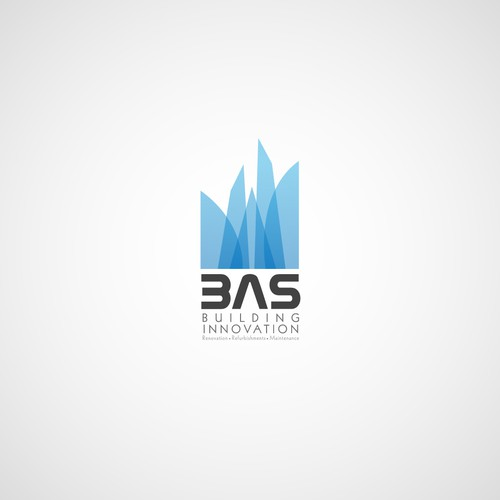 Help B.A.S building innovations  with a new logo