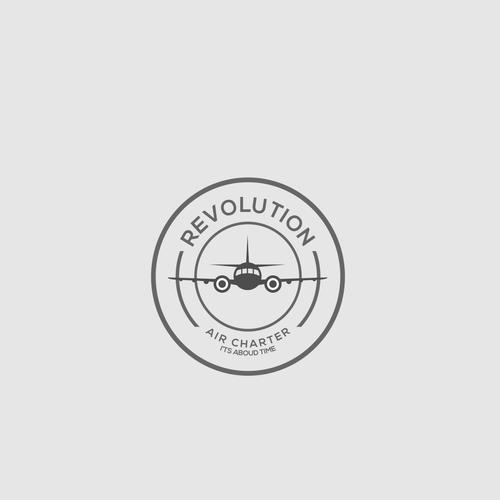 #logo #creative #branding #logo simple #brand #logo inspiration #logo new #logo inspire #logo sophisticated #logo new #energy and action.#logo design.                 Revolution Air Charter