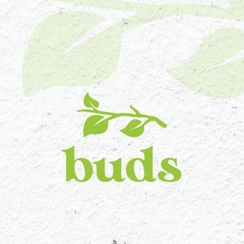 Buds logo design