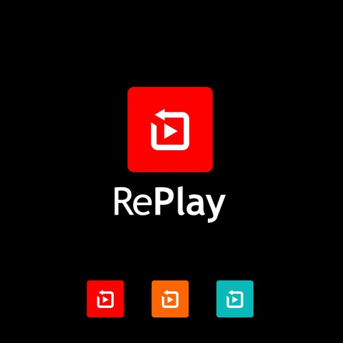 bold logo for rePLAY