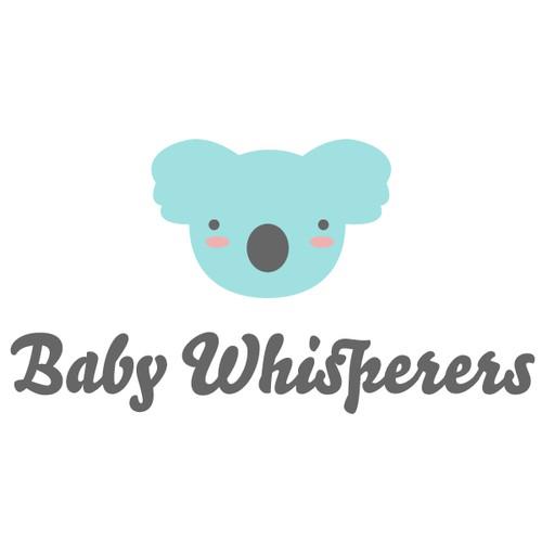 Logo concept for a baby day care center