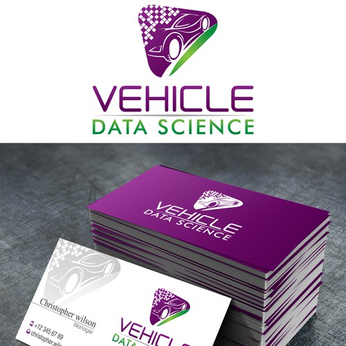 New logo and business card wanted for Vehicle Data Science