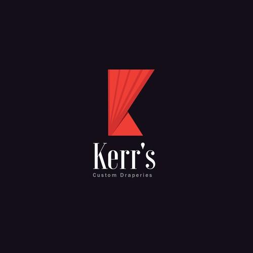 Logo for draperies company