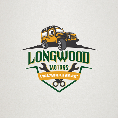 logo for land rover repair specialist