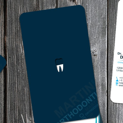 Orthodontist Business Card and Stationary