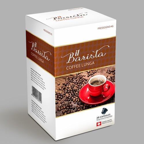 PRIVATE LABEL DESIGN FOR COFFEE PODS