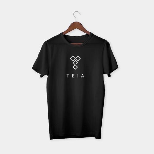 'TEIA' , a fashionable brand logo design