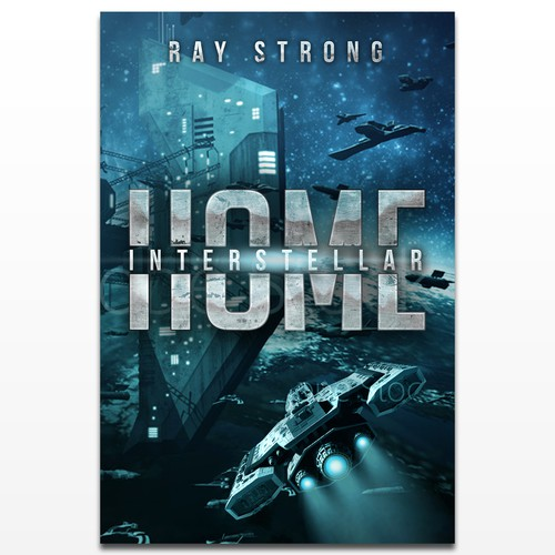Sci-fi book cover for Home: Interstellar