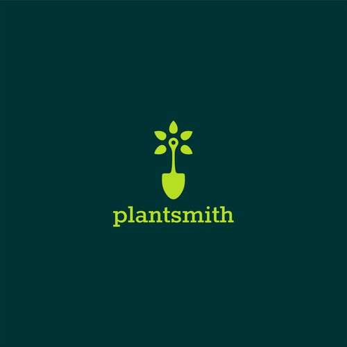 Logo for plant and plant-pot retail shop