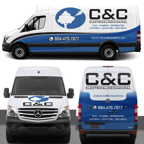 Fastest Growing Electrical Mechanical Company in Canada needs fleet wrapped!