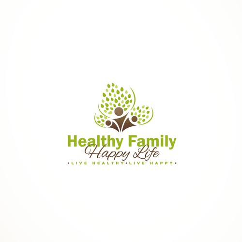 New logo and business card wanted for Healthy Family Happy Life