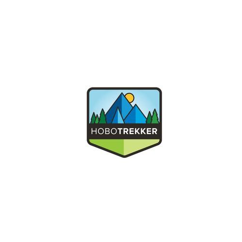 Logo for outdoor travel retailer