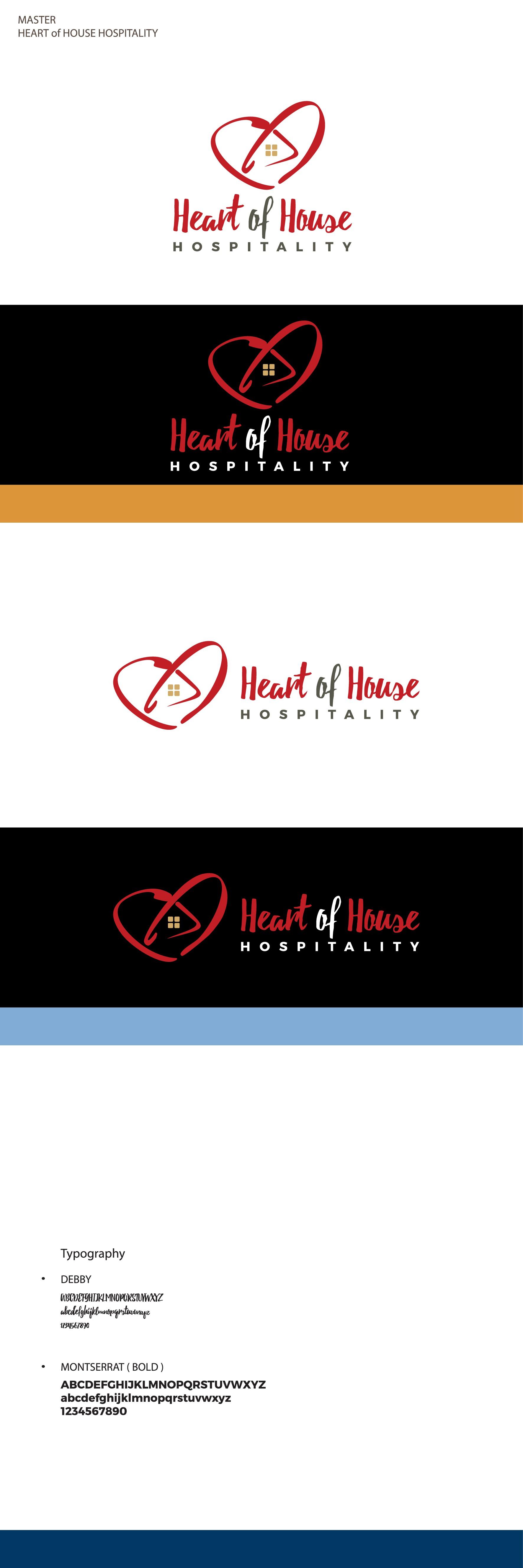 Design Logo for Heart of House Hospitality FB Group