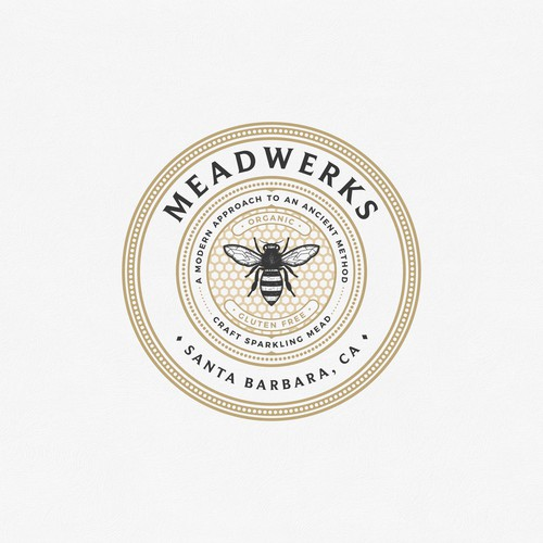 Logo concept for Meadwerks Santa Barbara California