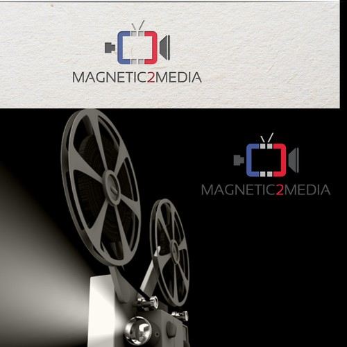 LOGO CAMPAIGN FOR AN ESTABLISHED, EMMY NOMINATED, FILM AND TV PRODUCTION COMPANY.